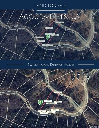 Agoura Hills Residential Lots & Land For Sale: Canyon Way