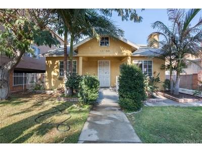 Single Family Home For Sale: 14631 Friar Street