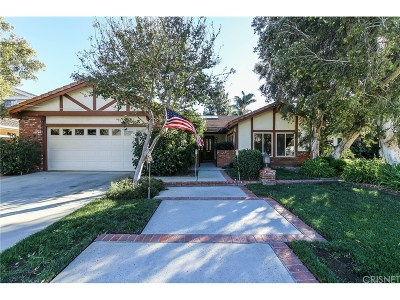 Northridge Single Family Home For Sale: 18794 Los Alimos Street