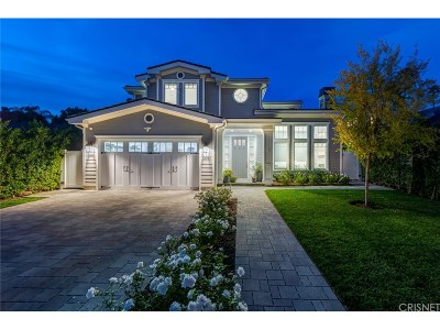 Encino Single Family Home For Sale: 15737 Hesby Street