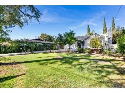 Single Family Home For Sale: 15847 Parthenia Street