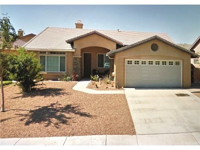 Palmdale Single Family Home For Sale: 5760 Marseilles Drive