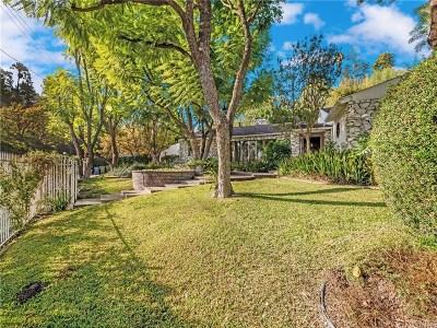 Encino Single Family Home Sold: 18000 Karen Drive