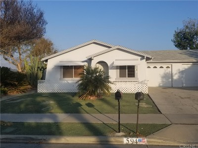 Single Family Home For Sale: 594 Toledo Drive
