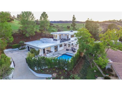 Encino Single Family Home For Sale: 4506 Charmion Lane