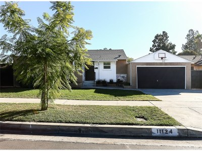 North Hollywood Single Family Home Active Under Contract: 11124 Debby Street