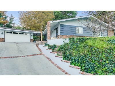 Newhall Single Family Home For Sale: 24805 Peachland Avenue