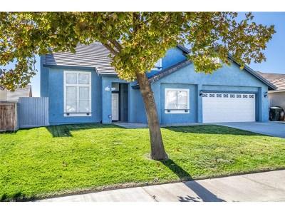 Rosamond Single Family Home For Sale: 2708 Cold Creek Avenue