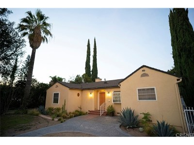 Valley Village Single Family Home For Sale: 11729 Otsego Street