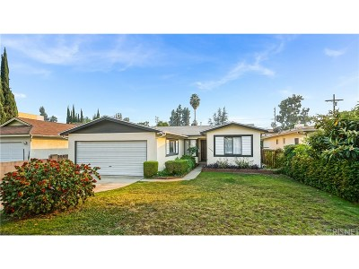 Single Family Home For Sale: 14738 Hartland Street
