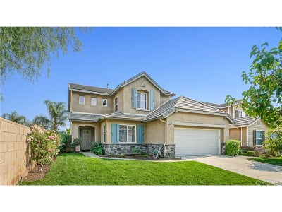 Stevenson Ranch Single Family Home For Sale: 25656 Gale Drive