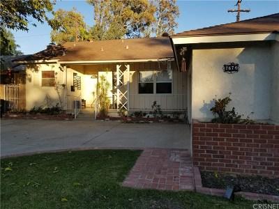Winnetka Single Family Home For Sale: 7674 Penfield Avenue