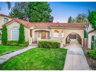 Los Angeles County Single Family Home For Sale: 1232 South Curson Avenue
