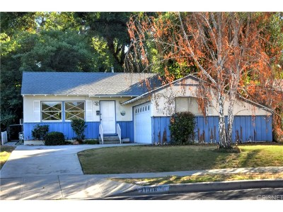 Woodland Hills Single Family Home For Sale: 21016 Costanso Street