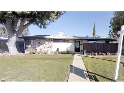 Single Family Home For Sale: 16745 Lassen Street