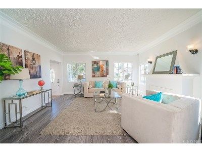 Mid Los Angeles (C16) Single Family Home For Sale: 2937 Somerset Drive