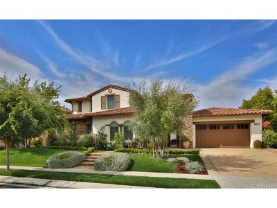 Calabasas Single Family Home For Sale: 25511 Prado De Oro