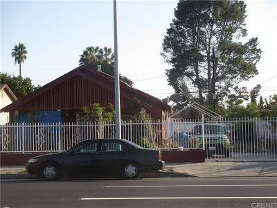 North Hollywood Single Family Home For Sale: 11900 Saticoy Street