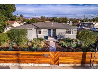 Single Family Home For Sale: 11000 Hayvenhurst Avenue