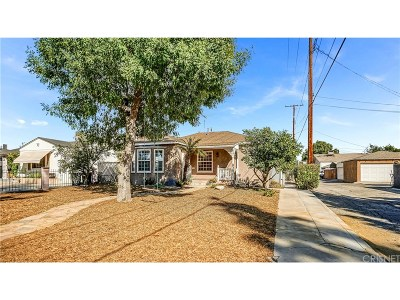 Burbank Single Family Home For Sale: 2010 North Pass Avenue