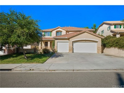 Stevenson Ranch Single Family Home For Sale: 25611 Hood Way