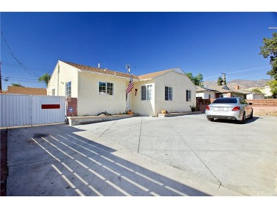 Sylmar Single Family Home For Sale: 13915 Herron Street