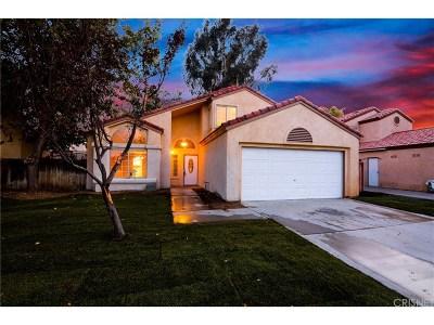 Lancaster Single Family Home For Sale: 1764 Sierra View Avenue