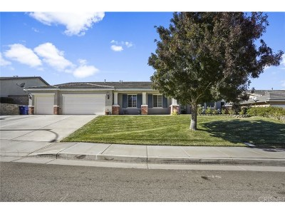 Palmdale Single Family Home For Sale: 40617 55th Street West