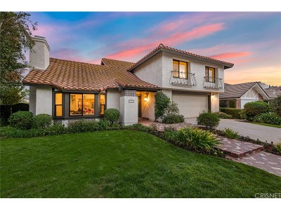 Agoura Hills Single Family Home Sold: 29020 Woodcreek Court