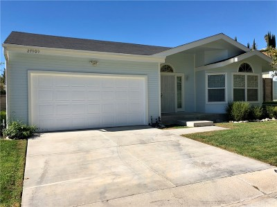 Canyon Country Single Family Home For Sale: 27909 Vista View Drive #452