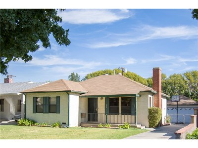 Burbank Single Family Home For Sale: 1450 North Evergreen Street