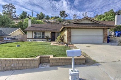 Canyon Country Single Family Home For Sale: 28327 Winterdale Drive