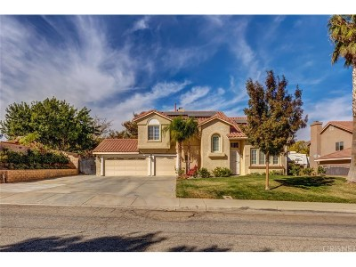 Lancaster Single Family Home For Sale: 42115 Valley Vista Drive