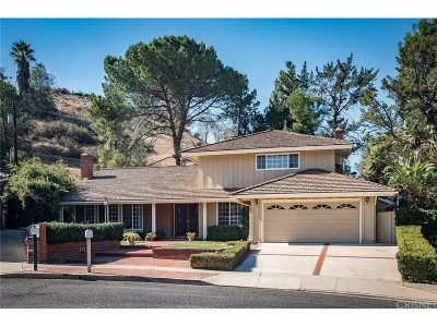 Thousand Oaks Single Family Home For Sale: 172 West Janss Circle