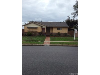 Single Family Home For Sale: 9362 Rubio Ave