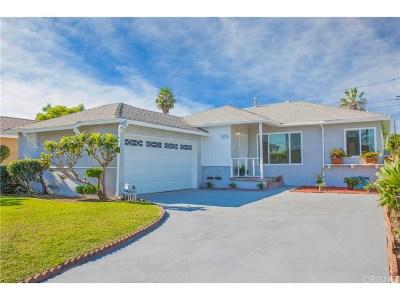 Compton Single Family Home For Sale: 15735 South Visalia Avenue