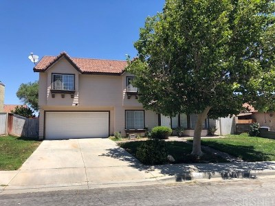 Palmdale Single Family Home For Sale: 3167 Dearborn Avenue