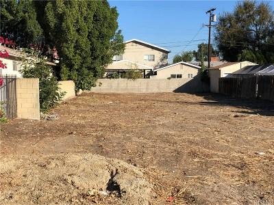 Sherman Oaks Residential Lots & Land For Sale: 4526 Sylmar Avenue