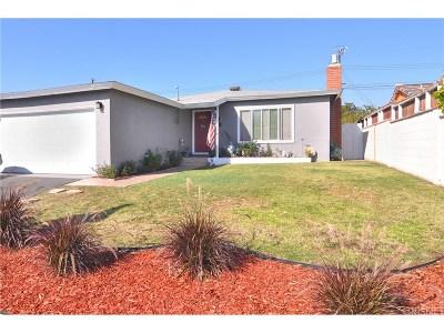 Arleta Single Family Home Active Under Contract: 13517 Mineola Street