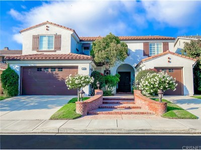 Moorpark Single Family Home Active Under Contract: 13949 Stagecoach