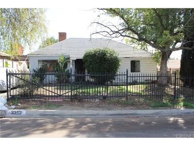Altadena Single Family Home For Sale: 3352 Alicia Avenue