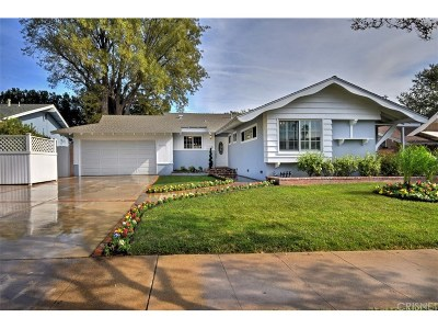 Chatsworth Single Family Home For Sale: 9758 Penfield