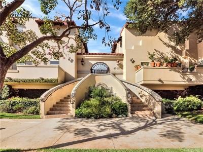 Studio City Condo/Townhouse For Sale: 4505 Colfax Avenue #1