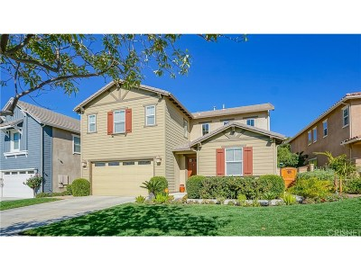 Saugus Single Family Home For Sale: 22587 Skipping Stone Drive