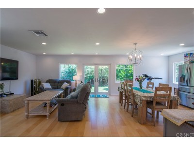 Encino Single Family Home For Sale: 17601 Delano Street