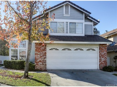 Canyon Country Single Family Home Active Under Contract: 26627 Whippoorwill Place
