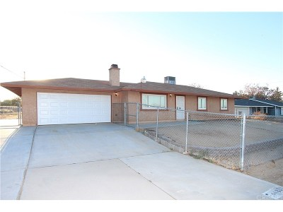 Palmdale Single Family Home For Sale: 40333 162nd Street East