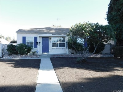 North Hollywood Single Family Home For Sale: 6632 Denny Avenue