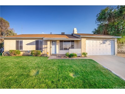 Palmdale Single Family Home For Sale: 40012 176th Street East