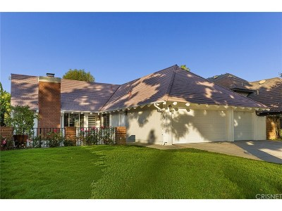 West Hills Single Family Home Sold: 8343 Sale Avenue